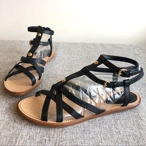 Louis Vuitton Ankle Wrap Flat Sandals